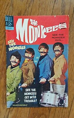 Dell The Monkees #3 Comic  See Photos