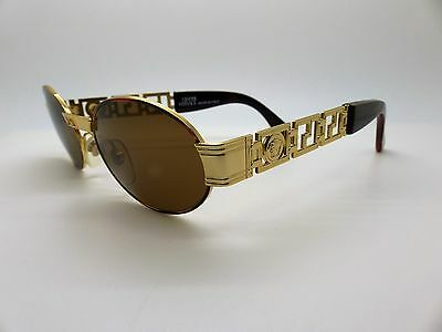 Versace Gianni Sunglasses Mod S43 Col 07M  Vintage Genuine New Old Stock