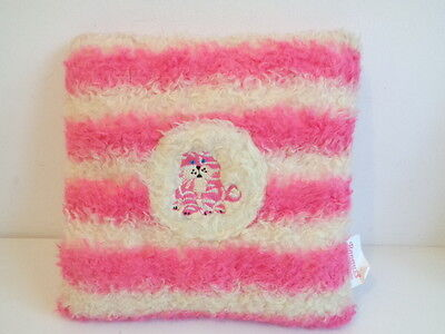 """BAGPUSS SMALL 10"""" SQUARE CUSHION with POCKET by GOLDEN BEAR"""