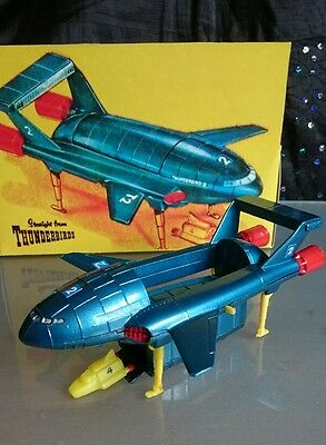 Dinky 106 Thunderbird 2 & 4  Gerry Anderson tv series with window box Complete