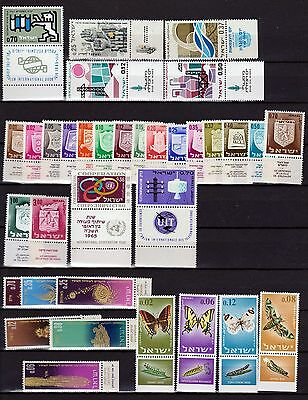 Israel 1965 complete year, MNH