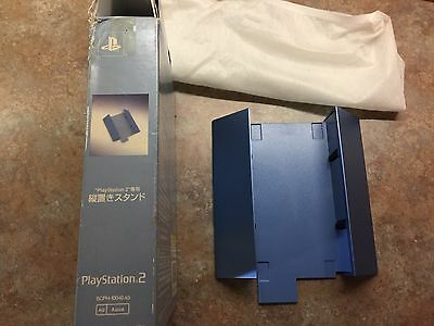Aqua Boxed Official Sony PS2 Vertical Stand SCPH-10040AQ Fat System *Rare*