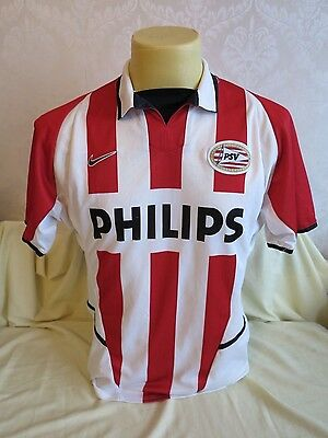 Psv Eindhoven Football Shirt Home 2002 2003 S Small Fit Rare Nike Holland