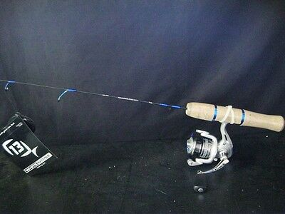 "13 Fishing White Noise Ice Combo Nwnc26M 26"" Medium Walleye"