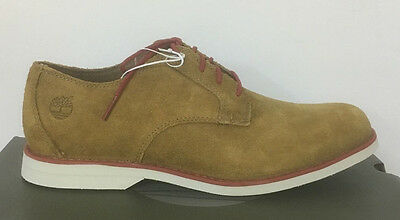 Timberland Men's  Stormbuck Light Brown Suede Oxford Shoes uk size 8.5