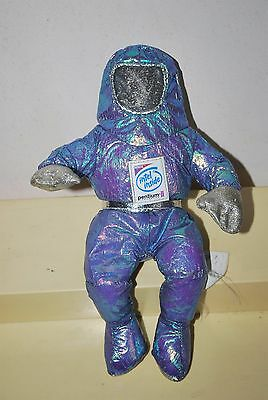 Intel Pentium II Intel Inside Astronaut Beanbag Doll Used Very Good Conditions