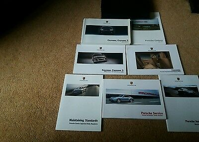 Porsche Cayenne Owners Handbook/Manual and Pack  2003-07