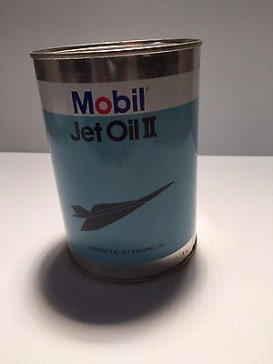 MOBIL JET OIL II Quart CAN - Turbine Oil  Concorde Can