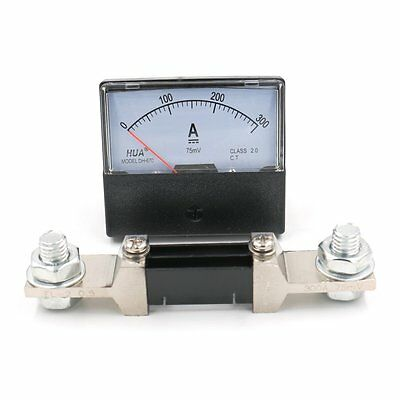 Analog Amp Panel Meter Current Ammeter DH-670 (YS-670) DC 300A with 75mV Shunt