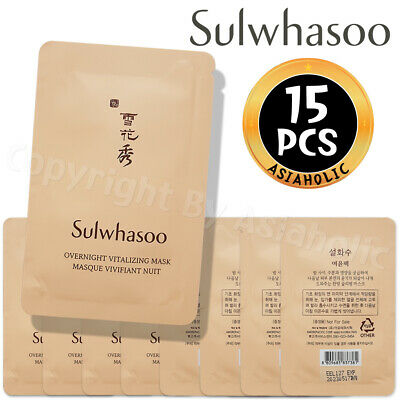 Sulwhasoo Overnight Vitalizing Mask EX 5ml x 15pcs (75ml) Probe AMORE PACIFIC