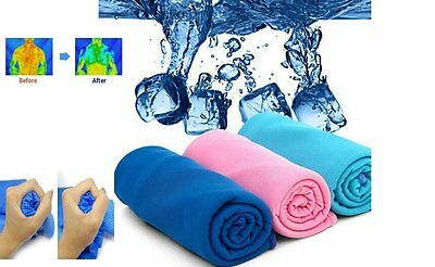 Sports Exercis Workout Gym Indoor Outdoor Intant Cooling Towel