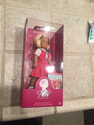 American Girl Mini Doll Kit Kittredge 2016 Special Edition Book New Free Ship$28