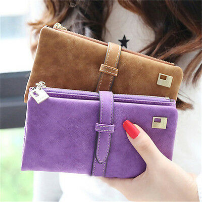 Lady Women Leather Clutch Wallet Long Card Holder Case Purse Handbag Hot Holder