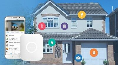 Samsung Smartthings Hub 2nd Gen Smart Home Automation Works With Alexa / Sonos