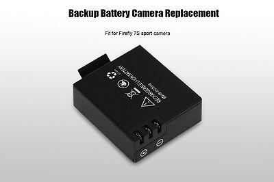 Action Camara Battery for Firefly 7S 2PCS 1050mAh Backup Replacement