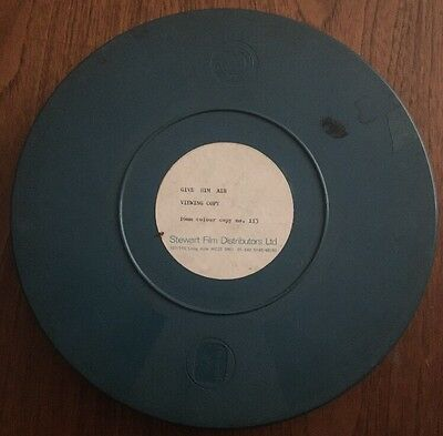 Super Rare Vintage 16mm Movie Film, 800ft Reel, Royal Navy First Aid Film 1971