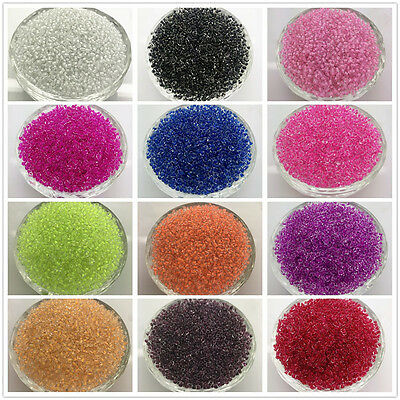 Wholesale 2MM 3MM 4MM Size Glass Cream Seed Spacer beads Jewelry Fitting Pick