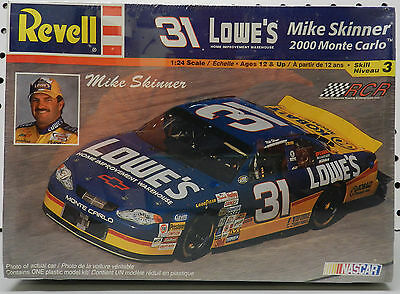 Lowe's Mike Skinner 31 2000 Rcr Nascar Sealed Chevy Monte Carlo Revell Model Kit