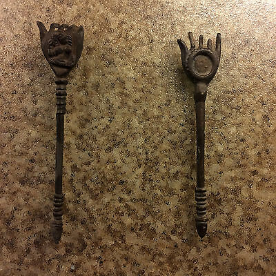 Back scratcher Very Rare Solid Brass Bronze Back Scratcher from India