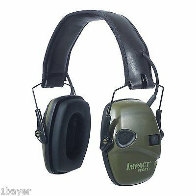 Howard Leight Impact Sport Electronic Hunting Range Shooting Protection Earmuff