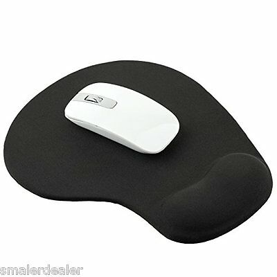 Black Wrist Mouse Mat for Computers