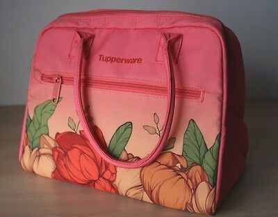 Tupperware Women's Flowers Insulated  Lunch Bag New