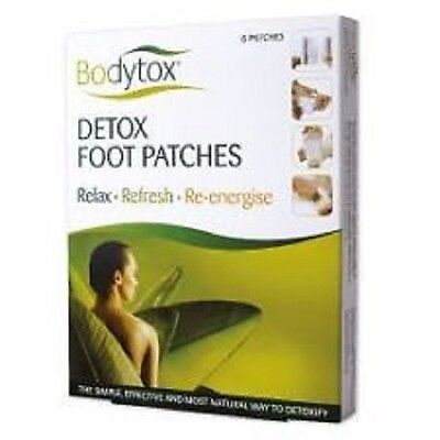 Bodytox Detox Foot Patches 6 Patch
