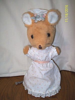 Eden Beatrix Potter Lady Mouse Plush 10""