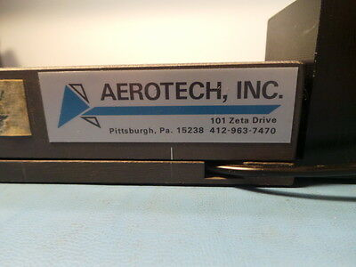 Aerotech positioning stage with stepping motor