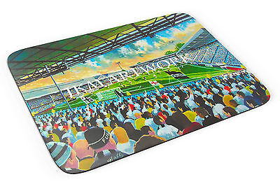 Craven Cottage Stadium Art Mouse Mat - Fulham FC