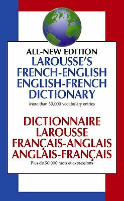 Larousse French English Dictionary - Paperback - NEW - Book