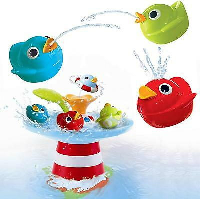 NEW Yookidoo Musical Duck Race Fountain Bath Toy Spins Sound Music Baby Toddler
