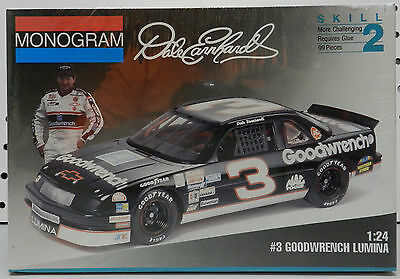 Gm Parts 1993 Goodwrench Chevy Lumina 3 Dale Earnhardt Monogram Sealed Model Kit