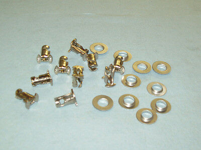 """50 Hollow Steel  Dzus  7/16""""  1/4 Turn Fasteners .500"""" Long, Made In Usa"""