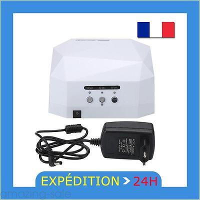 36W LED de Manucure Lampe UV A Vernis Nail dryer sèche ongles Nail Machine Blanc