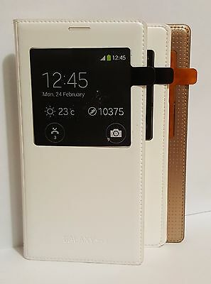 New OEM Samsung S-View Flip Folio ID Chip Cover Protective Case for Galaxy S5