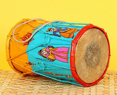 Krazy Mug Hand Painted Bunty Aur Babli Musical Instrument Indian Dholak Gift