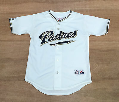 San Diego Padres- Youth S 8 Years Old - Majestic - MLB Baseball Jersey