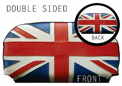 DBL Sided Union Flag Scooter Back Rest Cover (Purse Style)
