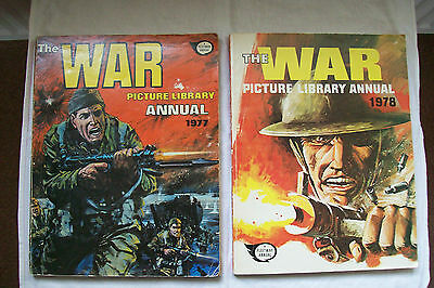 The War Picture Library Annual 1977 & 1978 Two Items