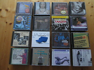 100 CDs - Various Artists - Jazz - Swing - Big Bands - Bebop - SAMMLUNG