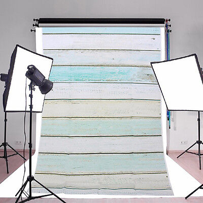 1x1.5M 3x5FT Wooden Wall Baby Photography Backdrop Photo Wood Background