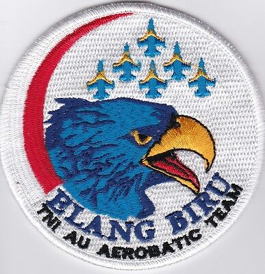 Patch Aufnäher ELANG BIRU Aerobatic Team, Indonesian Air Force, selten, rare!