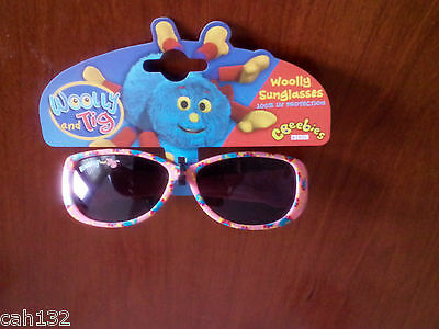 Cbeebies Pink Woolley and Tig Sunglasses  New With Tags