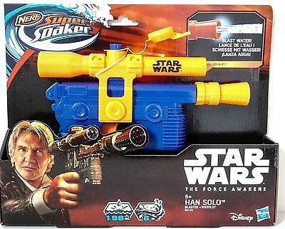 Star Wars - Han Solo - NERF Super Soaker Blaster Pistol - Rouge One - Official