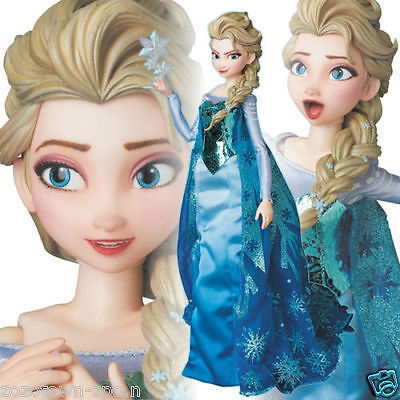 Medicom Toy Real Action Heroes Elsa Frozen 1/6 Scale Figure Doll Japan Licensed