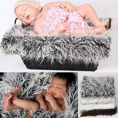 Girls Swaddle Blanket Studio Shoot Newborn Baby Photography Props Soft Long