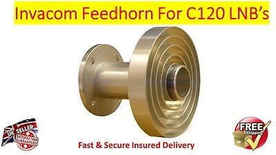 Original Invacom C120 ADF-120 Adjustable Feedhorn For C120 LNB