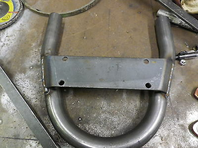 Cafe Racer / Scrambler / Bobber /tracker Frame Rear With Ebay Seat Bracket