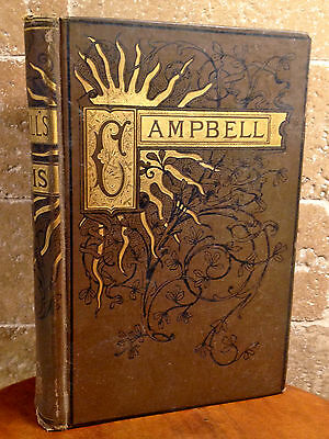 Campbell Family Collectible Heirloom, 1851 Antique Decorative Display Book